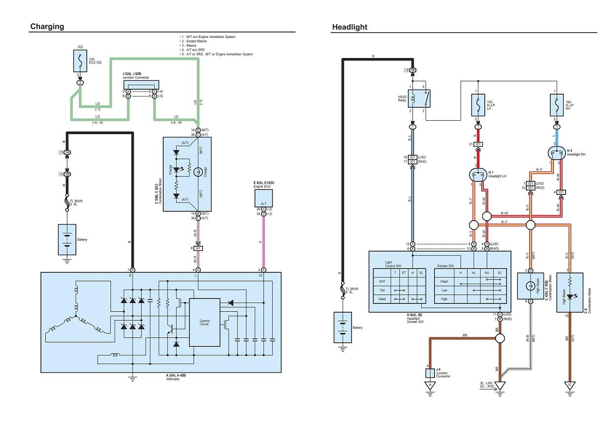 Charging Headlight Avanza Guru Otomotif Wiring Diagram Chargingheadlight 1